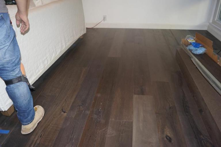 Provenza Pompeii Hardwood Flooring Installed In Hollywood