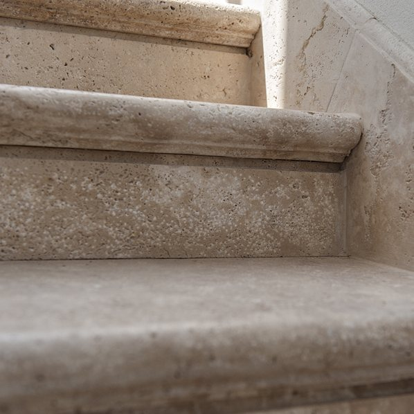 Lovely Each Step At A Time U003eu003e Travertine Stone Stairs U003eu003e#parqueteam_woodstone U003eu003e  Architecture: Zohar Rotfeld Photo By Oded Smadar #stone #travertine #stairs  ...
