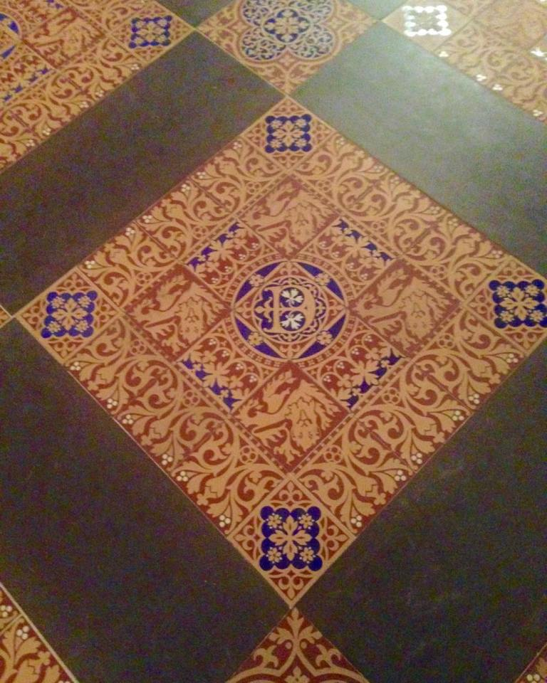 Fromwhereistand Parliament Housesofparliament Floor Tiles